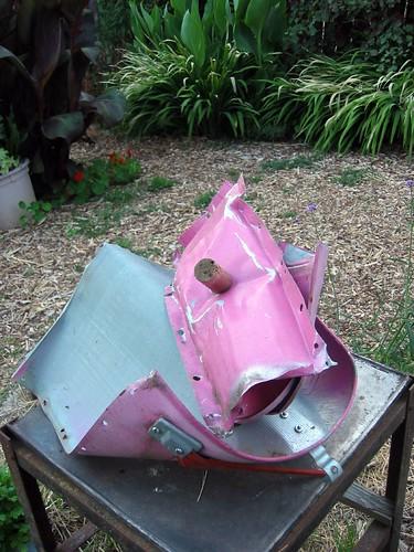 Mailbox Parker blew up by Rocketlass