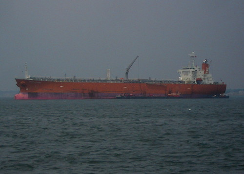 Cargo at Boston Harbor's Outer Berth