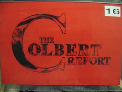 The Colbert Report ticket