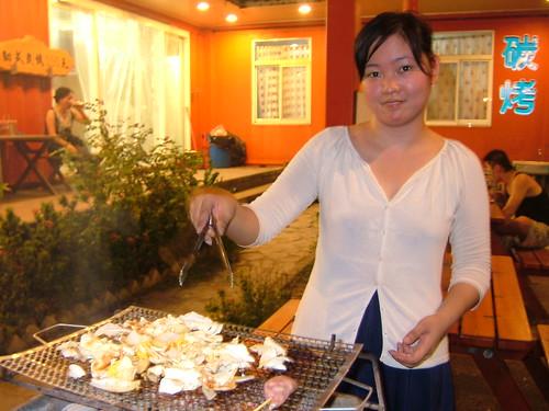 我炒的吐司的奶油炒高麗蔡我是大廚師
