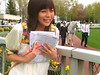 相武紗季_JRA北海道シリーズ『新馬+のんびり 篇』 (japancm) Tags: 相武紗季