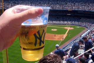 Yankee Stadium - Cold Beer on a Hot Day