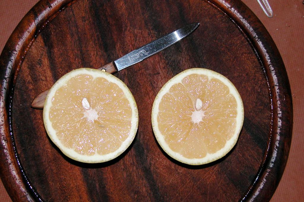 Brekkers: the now rare white grapefruit