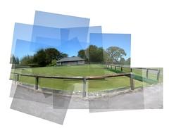parkpano (Gavin Wilson Cumbria) Tags: park panorama grass sunshine collage composite photoshop cumbria bowlinggreen panography cockermouth panograph gavinwilson