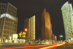 three towers (bea2108) Tags: berlin amazing nightshot potsdamerplatz nightshots
