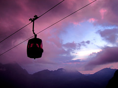 Purple ride to heaven (kenyai) Tags: sunset italy mountain mountains alps colors montagne italia tramonto colours interestingness1 explore monterosa colourful lys colori alpi montagna valledaosta valdaosta gressoney i500 gabiet staffal valldigressoney