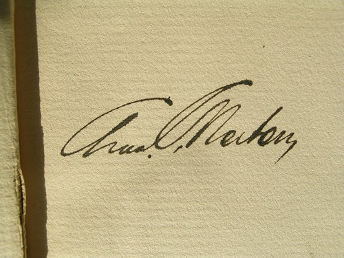 Old Fashioned Signature