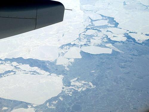 Icebergs below, captain!