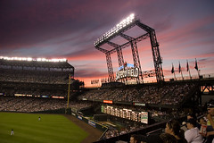 Sunset Baseball (roscodebosco) Tags: seattle friends baseball safeco seattlemariners