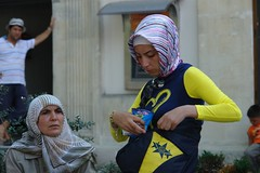 Blue and yellow (CharlesFred) Tags: summer turkey türkiye turkiye 2006 istanbul İstanbul turkije turquia bosphorus turchia