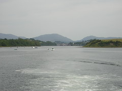 View of Donegal Bay from the Waterbus