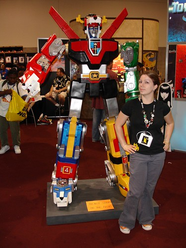 Leah and Voltron!