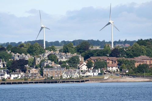 wind farm at Broughty Ferry by bob the lomond, on Flickr