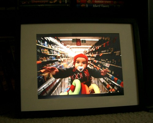 Laptop picture frame