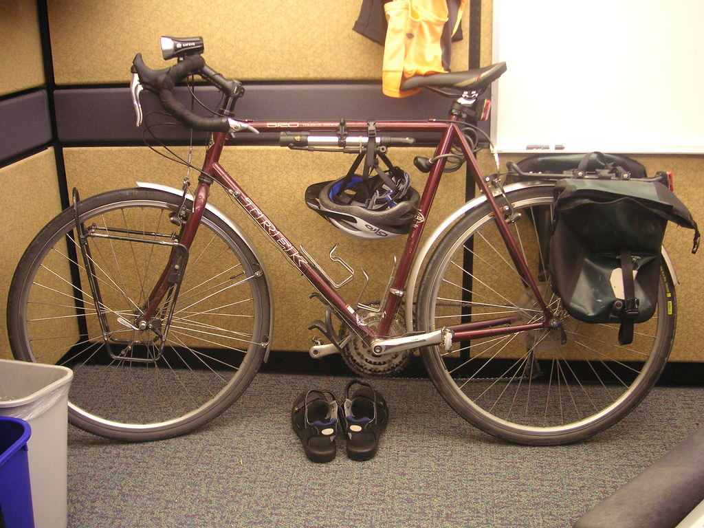 Trek 520 commuting bicycle