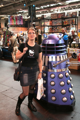 Linda and Dalek