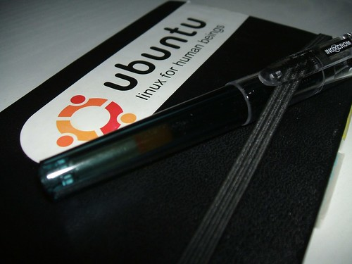 Moleskine Pocket + Ubuntu + Inoxcrom Short