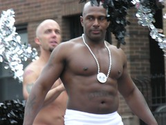 J.C. Carter (EButterfield Photography) Tags: gay shirtless chicago black men muscles tattoo muscle chest pride 2006 parade tattoos porn floats jccarter