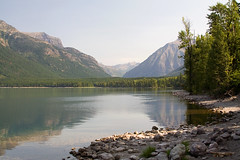 Lake McDonald (Robby Edwards) Tags: vacation lake mountains water nationalpark montana shoreline glacier shore glaciernationalpark payitforward goingtothesunroad lakemcdonaldlodge lakemcdonald