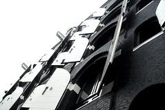 White shutters (monoglot) Tags: blackandwhite white black building netherlands amsterdam honeymoon apartment shutters jordaan canalhouse dejordaan