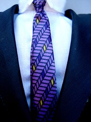 Necktie Close Up (ZoofyTheJinx) Tags: blue white man black shirt neck photography dress purple formal tie meeting knot clean business crisp event jacket windsor collar pure blacktie crease dressy ebony necktie appearance appear formality formally comp01