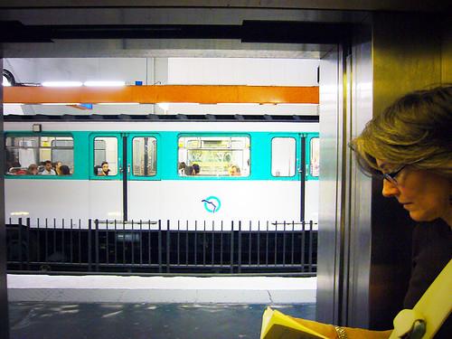scene of metro life