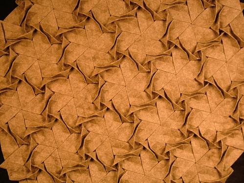 Seeking Wool And Flax Origami Tessellations