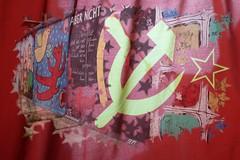 The Wall (Heaven`s Gate (John)) Tags: red berlin history wall photoshop germany star creative berlinwall soviet montage imagination effect bluelist johndalkin heavensgatejohn
