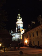 晚上的城堡廣場