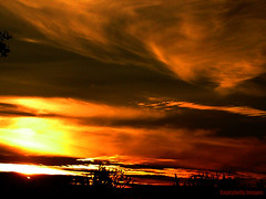 Strands of Golden Hope.... (Dave - aka Emptybelly) Tags: light sunset pordosol panorama cloud sun sunlight sol beautiful silhouette skyscape fire gold zonsondergang colorful paradise tramonto shadows sonnenuntergang sony horizon cybershot glorious rays colourful dämmerung sunrays crépuscule picturesque sonycybershot eb firelight glamorous oscuridad puestadelsol riveravon coucherdusoleil dscs40 schemer wondrous dgr emptybelly obsessiveflickrites sonycybershotdscs40 rivergold bonzag