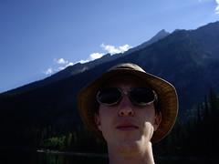 will self-portrait (hillary h) Tags: armslength will wyoming jacksonhole jacksonlake september2006