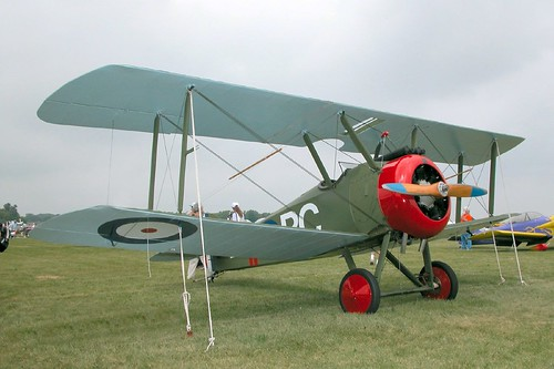 Warbird picture - Sopwith Camel replica