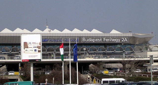 Leaving Budapest Airport