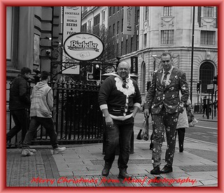 Santa's and the city.