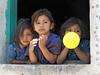 Looking Out (Artypixall) Tags: guatemala sanantoniopalopo younggirls children window streetscene faa