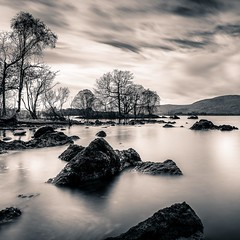 Loch Lomond (LorenzoBPhoto) Tags: longexposure fineart blackandwhite monochrome viraggio travel travelphotography lake waterscape water nature naturallight naturephotography england scotland seascape mountains uk europe highlands blackandwhitephotography biancoenero viaggio landscape paesaggio canon manfrotto lowepro haida ndfilter art