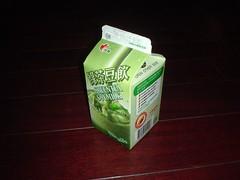 [點心] 光泉綠茶豆飲