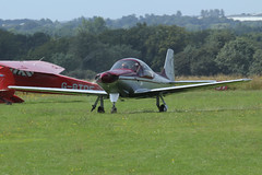 Sequoia F-8L Falco G-CYLL (Old Buck Shots) Tags: dm sequoia falco f8l egsv gcyll