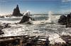 Arrecife de las Sirenas (Cabo de Gata - Almería) (Jose Manuel Cano) Tags: sea españa costa rock landscape mar spain oleaje paisaje almería cabodegata roca arrecife sirenas lassirenas nikond5100 thefourbasicelements