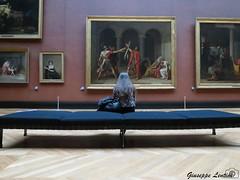 Contemplation #1 - Louvre (PinoShot) Tags: david paris france museum louvre il museo oath degli contemplation the horatii contemplazione giuramento jacqueslouis orazi
