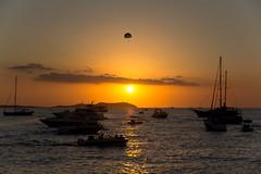 Cafe Mambo, Ibiza (PhilliB123) Tags: world trip travel sunset beautiful canon boats cafe europe place mambo exploring cities best ibiza parasailing t3i 600d