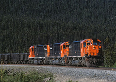 Behemoths of the North (Missabe Road) Tags: 75 47 46 qcm m636 quebeccartiermining ironorerailroad