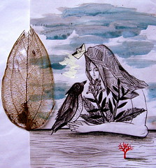 (re)conocerse (Felipe Smides) Tags: naturaleza barco bosque papel acuarela dibujo pintura valdivia ilustración nativo smides felipesmides