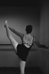 Anonymous Dancer. (SybrenDeBoever) Tags: ballet dance dancer stretch belgian anonymous