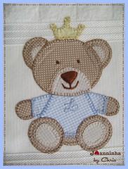 Imagem 005 (Joanninha by Chris) Tags: handmade artesanato urso bordado feitoamão enxovalbebê aplicaçãodetecidos