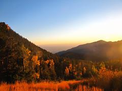 A beautiful fall morning. (miss.interpretations) Tags: autumn trees red mountains fall nature grass outdoors golden meadow wye cripplecreek coloraod goldencamp stpeterslookout