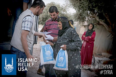 Syria Qurbani Distribution 2015