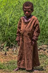 Child, Bien Village, Papua New Guinea (bfryxell) Tags: child robe papuanewguinea oceania melanesia sepikriver bienvillage