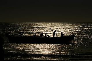 Playing on The Boat/ Brincadeira no Barco