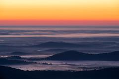 Shenandoah National Park (jfwphoto) Tags: mist mountains fog sunrise landscape nps shenandoah skylinedrive
